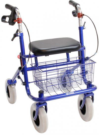 Premis Provo Klein Volwassenen Rollator blauw