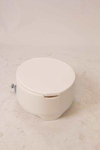 Toiletverhoger Ashby met deksel