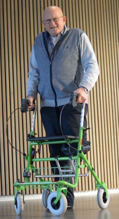 Ampugo kniesteun voor rollator