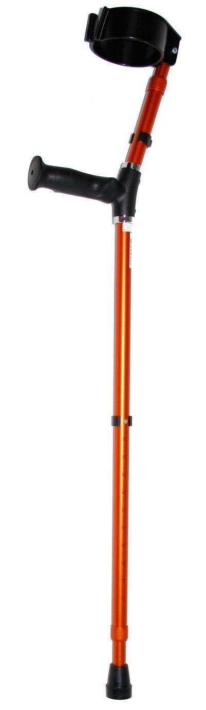Premis OHV Anatomische Oranje Elleboogkruk
