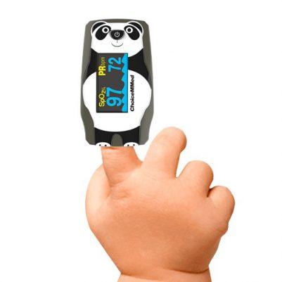 Saturatiemeter voor kinderen Panda