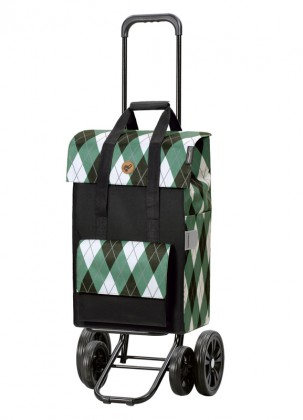 Shopper Andersen Quattro Ine Green
